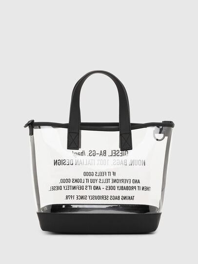 Diesel - PUMPKIE, White - Shopping and Shoulder Bags - Image 3
