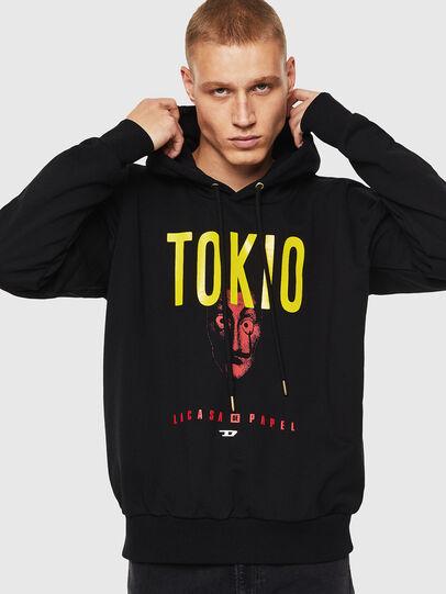 Diesel - LCP-S-ALBY-TOKIO, Black - Sweaters - Image 1