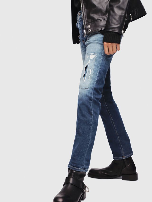 Diesel - Thommer JoggJeans 087AK, Medium blue - Jeans - Image 3