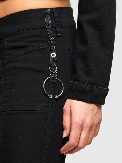 Diesel - Slandy 069EF, Black/Dark grey - Jeans - Image 7