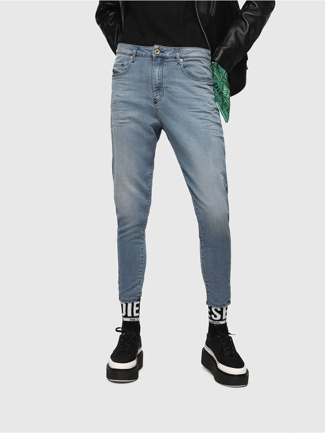 Diesel - Candys JoggJeans 069FF, Medium blue - Jeans - Image 1