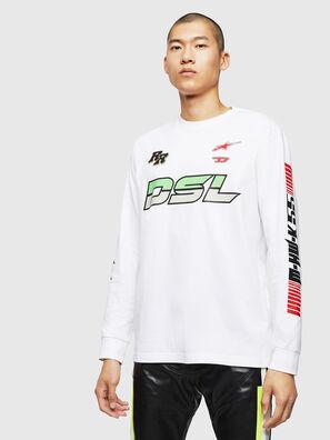 ASTARS-T-JUST-LONG, White - T-Shirts