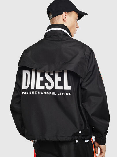 Diesel - J-BROCK, Black - Jackets - Image 3