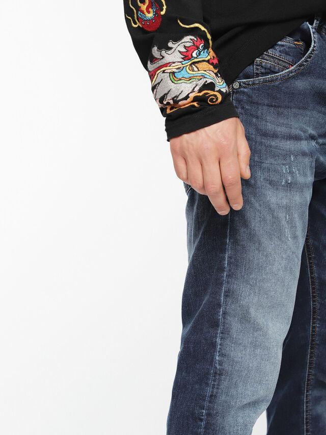 Diesel - Krooley JoggJeans 0699Z, Medium blue - Jeans - Image 4