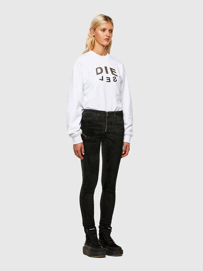 Diesel - F-ANG-R20, White - Sweaters - Image 4