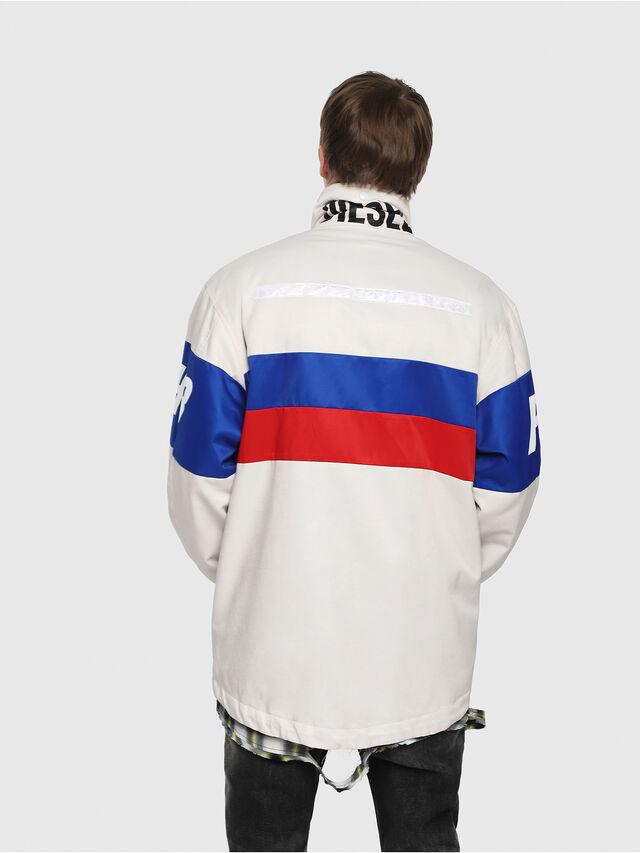 Diesel - J-AZUMA, Multicolor/White - Jackets - Image 2