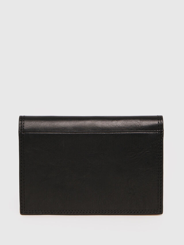 Diesel - N-PASSME, Black/Yellow - Small Wallets - Image 2