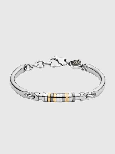 Diesel - DX1186, Silver - Bracelets - Image 1