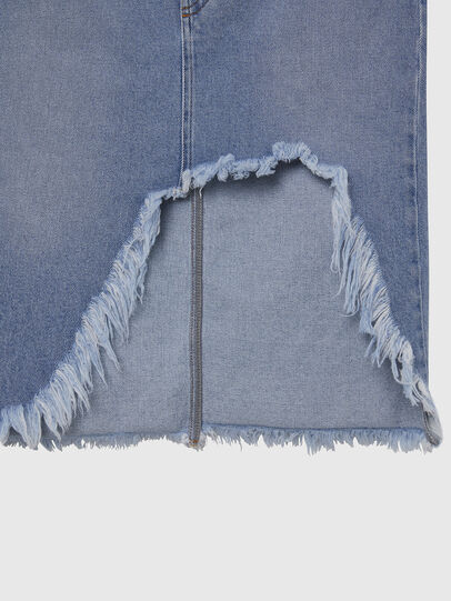 Diesel - DE-ELLYOT, Light Blue - Skirts - Image 3