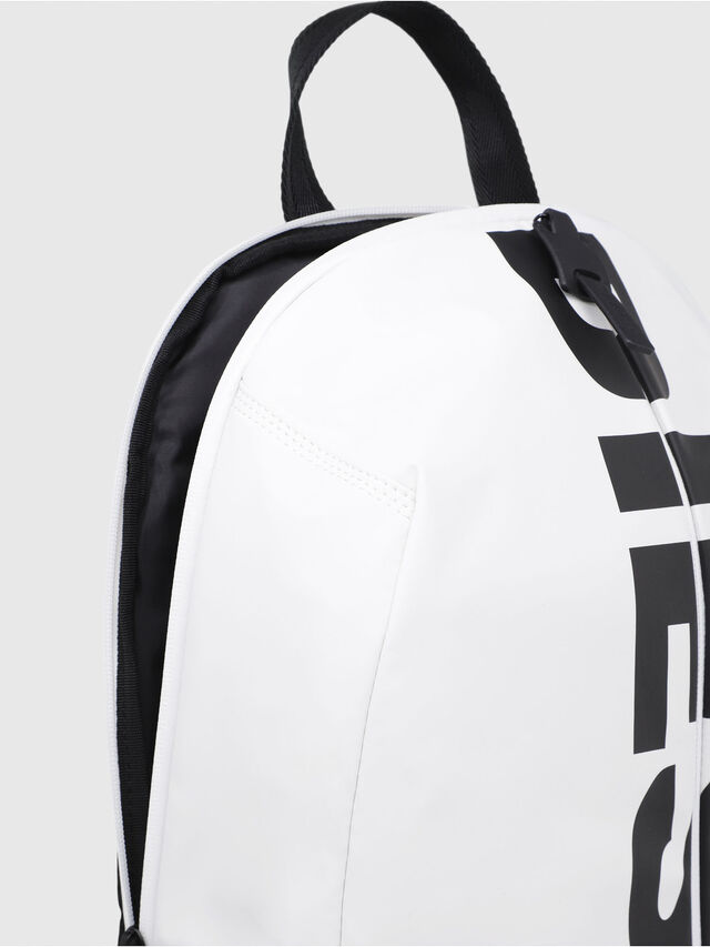 Diesel - F-BOLD BACK, White/Black - Backpacks - Image 3