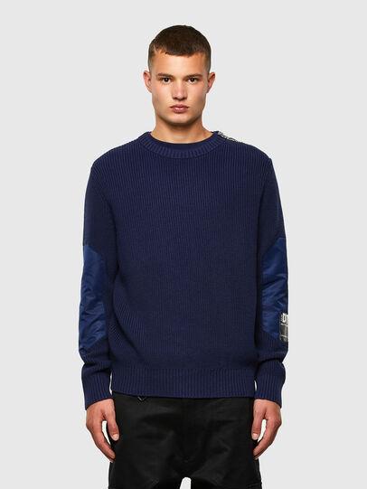 Diesel - K-GILLING, Blue - Knitwear - Image 1