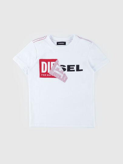 Diesel - TOQUEB MC-R, White - T-shirts and Tops - Image 1