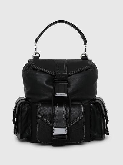 Diesel - MISS-MATCH BACKPACK, Opaque Black - Backpacks - Image 1