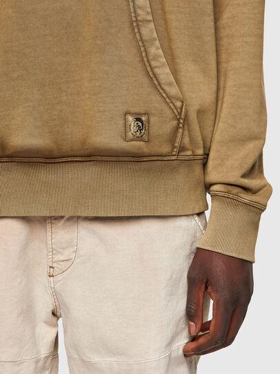 Diesel - S-GIRK-HOOD-MOHI-B1, Light Brown - Sweaters - Image 3