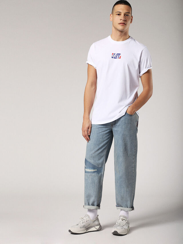 Diesel - T-JUST-ZC, White - T-Shirts - Image 4