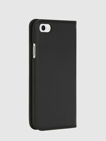 Diesel - SLIM LEATHER FOLIO IPHONE 8/7,  - Flip covers - Image 4