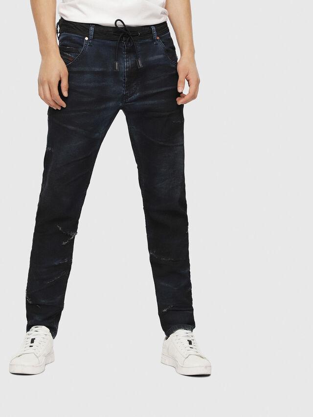 Diesel - Krooley JoggJeans 069CG, Dark Blue - Jeans - Image 1