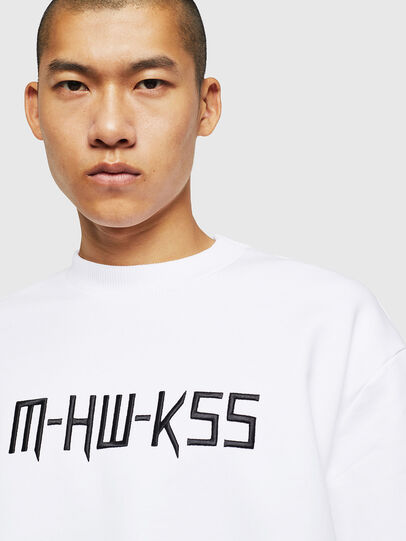 Diesel - S-LINK-MOHAWK, White - Sweaters - Image 3