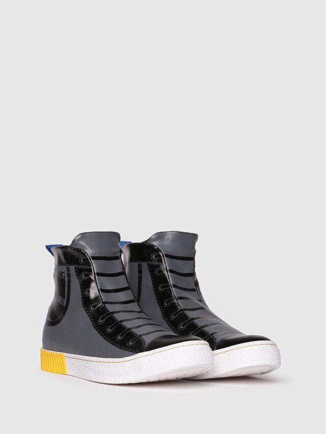 Diesel - S-DIESEL IMAGINEE MID, Gray/Black - Sneakers - Image 2