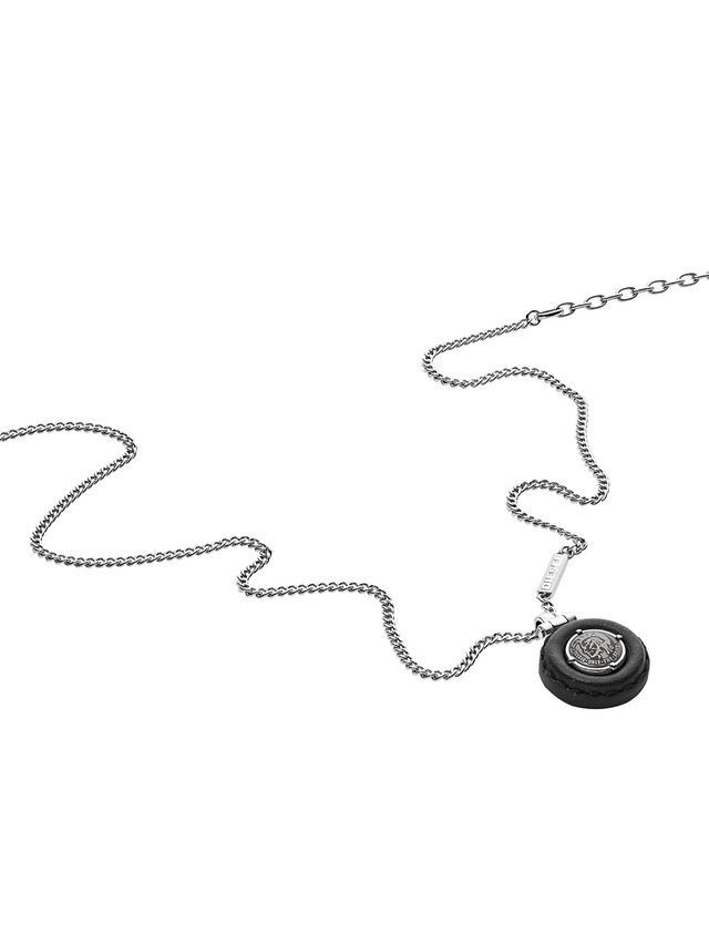 Diesel NECKLACE DX1022, Silver - Necklaces - Image 2
