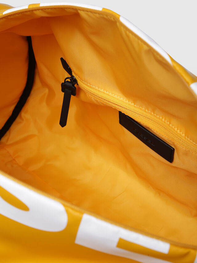 Diesel - F-BOLD DUFFLE, Yellow Ocher - Travel Bags - Image 5