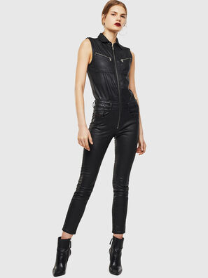 D-GLYNNE JOGGJEANS, Black/Dark grey - Jumpsuits