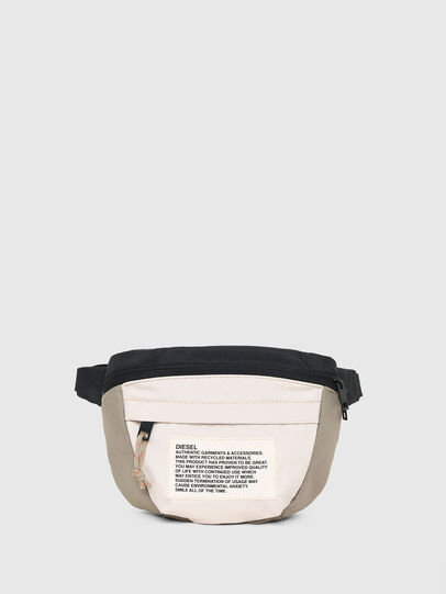 Diesel - LOKI, White/Orange - Crossbody Bags - Image 1