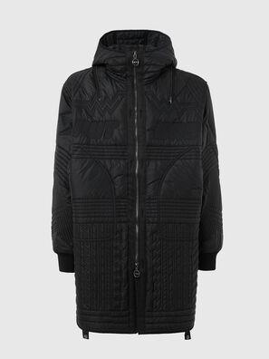 W-PAR-QUILT, Black - Jackets