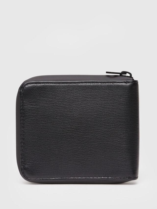 Diesel - ZIPPY HIRESH S, Black/White - Small Wallets - Image 2