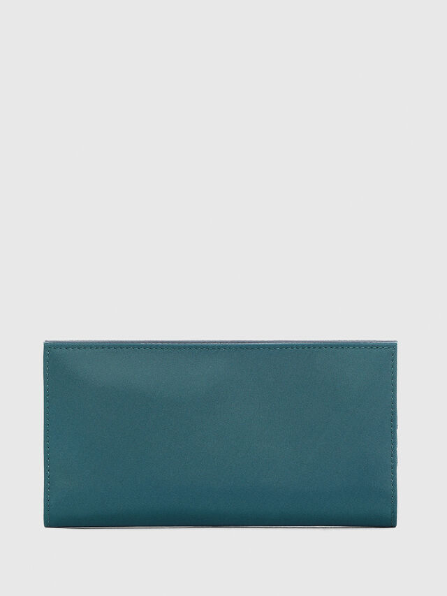 Diesel - 24 A DAY WITH STRAP, Blue Marine - Continental Wallets - Image 2