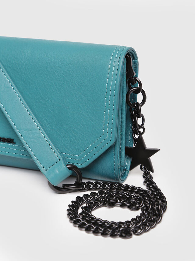 Diesel - GIPSI, Water Green - Small Wallets - Image 4
