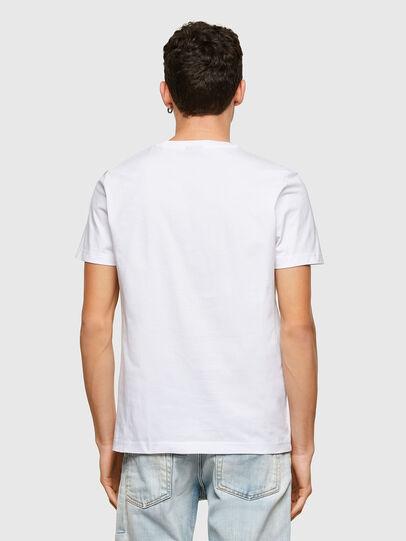 Diesel - T-DIEGOS-K45, White - T-Shirts - Image 2