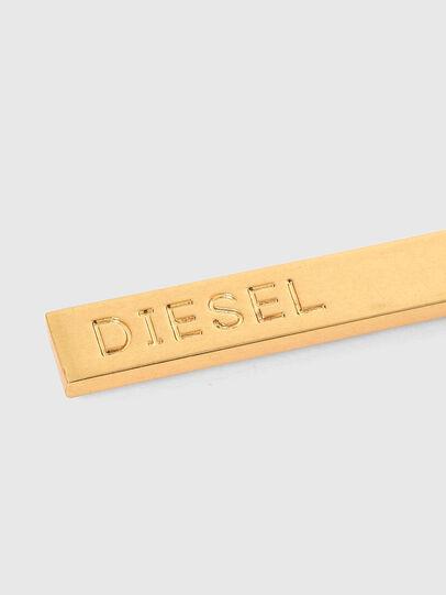 Diesel - GUNNER, Gold - Bijoux and Gadgets - Image 4