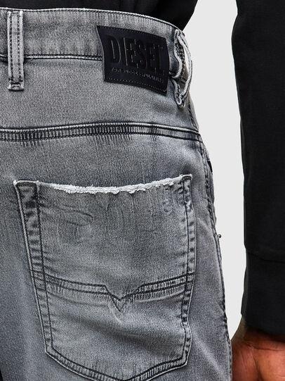 Diesel - Krooley JoggJeans® 069SN, Light Grey - Jeans - Image 4