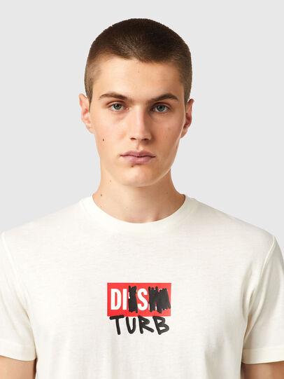 Diesel - T-DIEGOS-B10, White - T-Shirts - Image 3