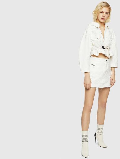 Diesel - DE-JODY, White - Skirts - Image 5