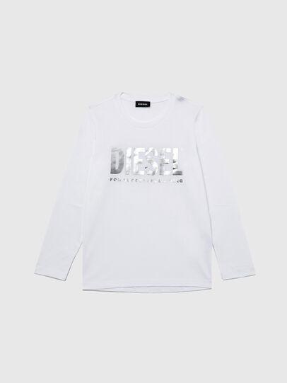 Diesel - TSILYWX ML, White - T-shirts and Tops - Image 1