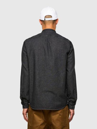 Diesel - D-BILLY, Black - Denim Shirts - Image 2