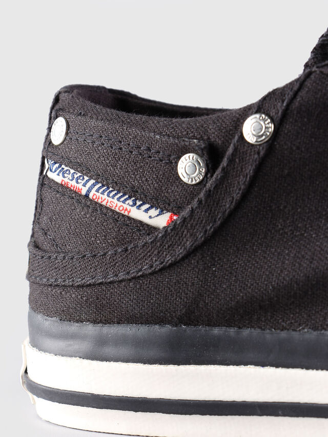 Diesel - EXPOSURE LOW, Black - Sneakers - Image 6