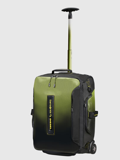 Diesel - KA2*69008 - PARADIVE, Black/Yellow - Duffles with wheels - Image 1