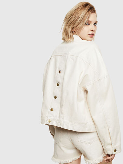 Diesel - DE-JALA, White - Denim Jackets - Image 2