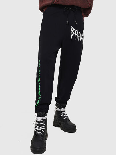 Diesel - P-HUNT, Black - Pants - Image 1