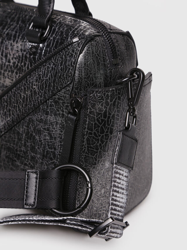 Diesel - LE-TRASY, Silver - Satchels and Handbags - Image 4