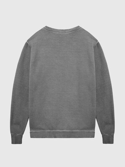Diesel - S-GIR-DIVISION-LOGO, Dark grey - Sweaters - Image 2