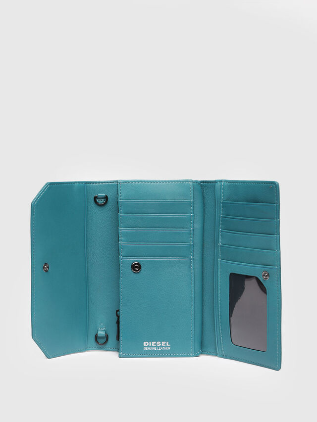 Diesel - GIPSI, Water Green - Small Wallets - Image 3