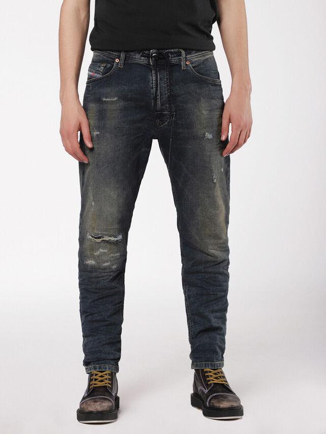 Diesel - Narrot JoggJeans 0699V, Dark Blue - Jeans - Image 1