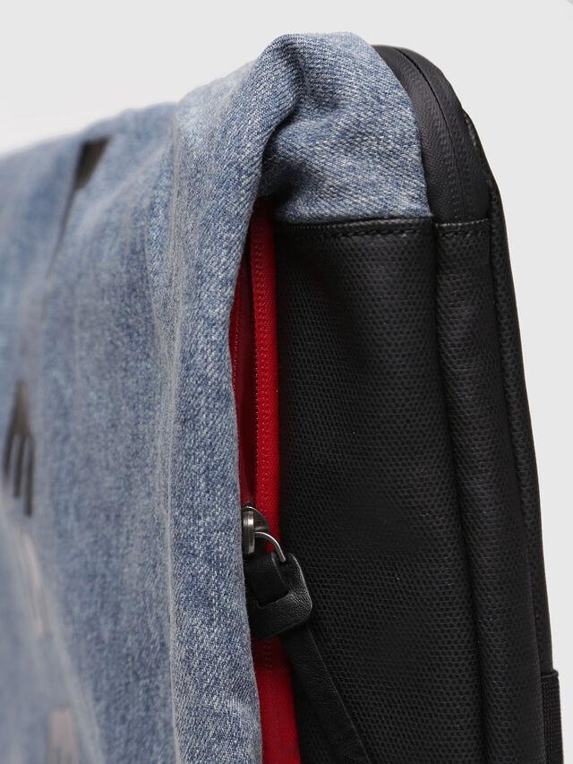 Diesel - D-SUBTORYAL CLUTCH, Blue Jeans - Clutches - Image 5