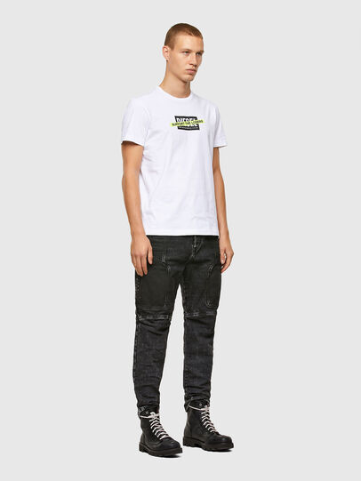 Diesel - T-DIEGOS-A3, White - T-Shirts - Image 4