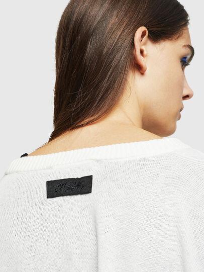Diesel - M-NETTY, White - Knitwear - Image 3