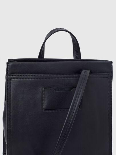 Diesel - AMETISTA, Black - Shopping and Shoulder Bags - Image 6